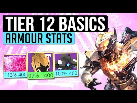 Destiny | TIER 12 BASICS! - How To Identify Armor Stat Rolls & Get Tier 12 Easily! (Age of Triumph)