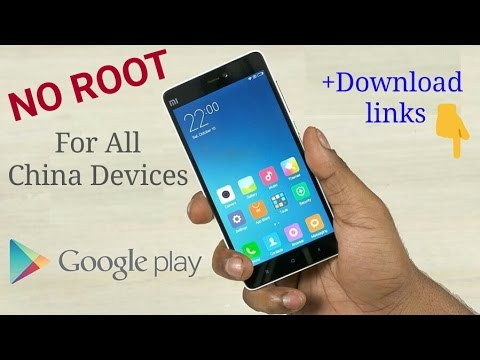 Install Google Play Services (Play store) for Any China Phone (NO ROOT) || 小米 With download Link!!!