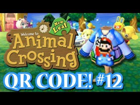 ANIMAL CROSSING: NEW LEAF - QR CODES - MARIO SWEATER! (EPISODE 12)