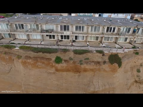 Pacifica Coastal Erosion 2016 to 2017