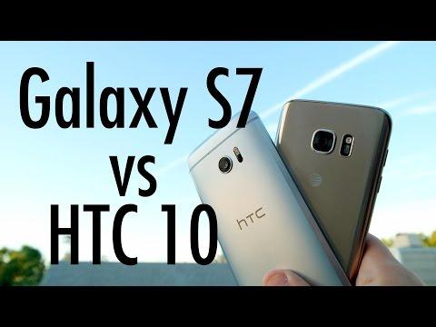 HTC 10 vs Samsung Galaxy S7: Flagship Phone Fight