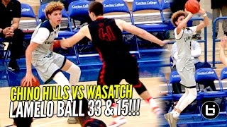 LaMelo Ball GOES FULL STEPH CURRY MODE!! Chin...