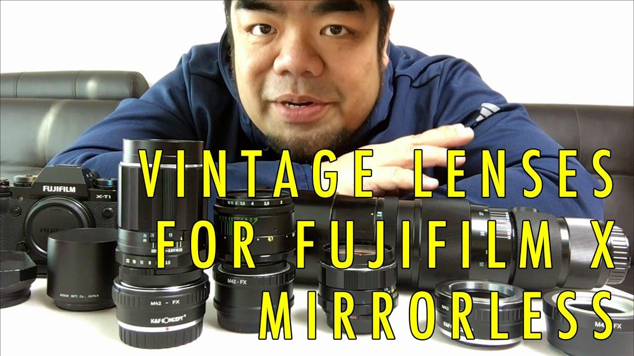 Cheap Vintage M42 Manual Lenses for Fuji X Mirrorless Cameras