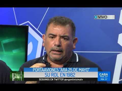 VETERANOS PORTAAVIONES ARA 25 DE MAYO