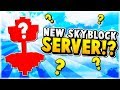 NEW MCPE SKYBLOCK SERVER!!! - Minecraft PE (Pocket Edition)