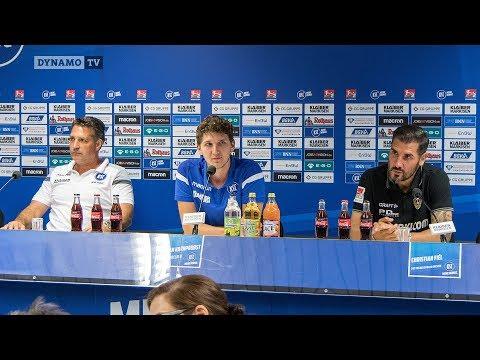 2. Spieltag | KSC - SGD | Pressekonferenz nach dem Spiel
