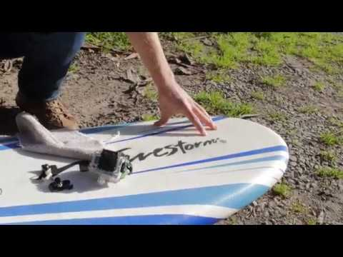 How to Install a GoPro Surf Mount to a Spongie
