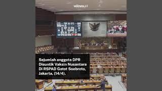 Ramai-ramai suntik vaksin Nusantara