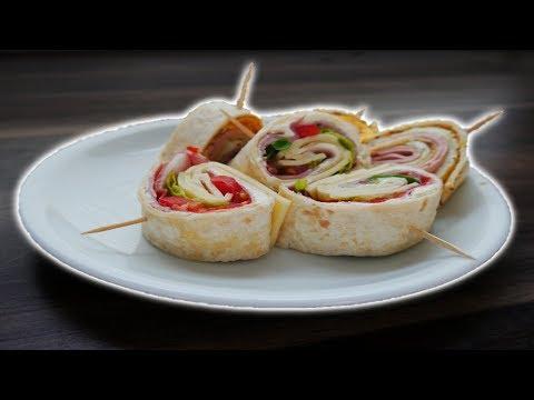 Snack Wrap - Ein gesunder Snack für zwischen durch #Extrablatt