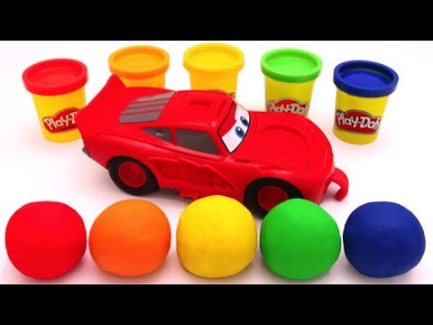 Thumbnail: Learn Colors with Play Doh Disney Pixar Lightning McQueen for Kids