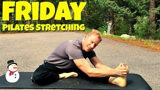 Friday - Relaxing Pilates Restoration and Flexibility Stretch Routine - 7 Day Pilates Challenge