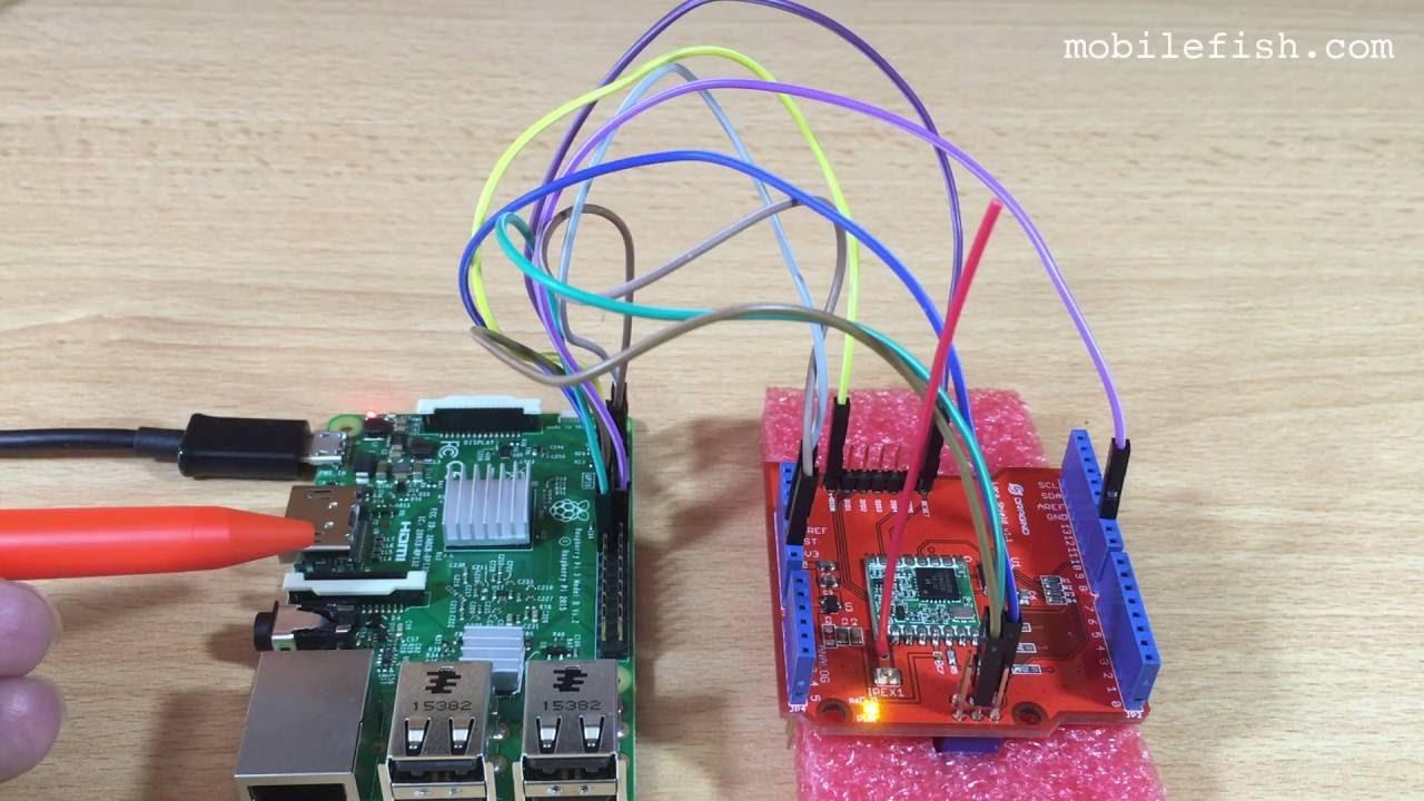 Mobilefish com - Build Lora gateway using Raspberry Pi 3 model B and