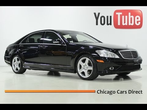 Chicago Cars Direct Presents a 2009 Mercedes-Benz S550 4Matic. Black/Black. #241504