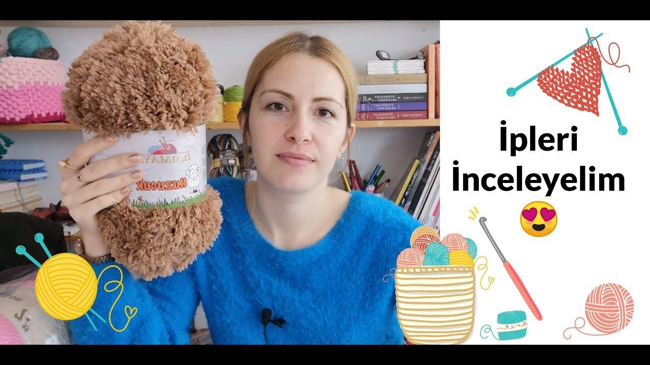 İpleri İnceliyoruz 2   İp Alışverişi   Yarn Haul Turkey   Yarn Shopping
