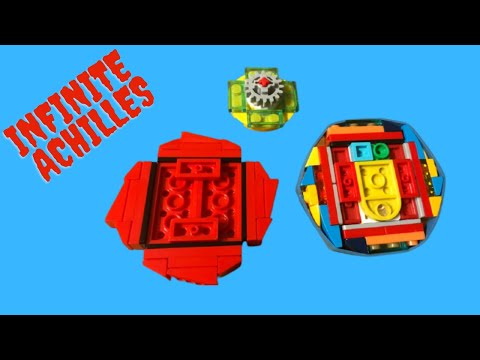 Upgrade of lego infinite Achilles Beyblade