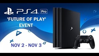 PS4 Pro Future Of Play UK Event Details! | 4K Blu Ray Dying Format? | Driveclub 15 New Tracks