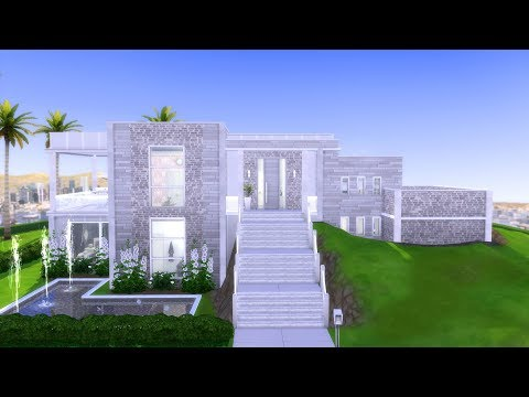 The Sims 4: GET FAMOUS // MODERN MANSION