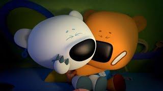 Ми-ми-мишки - Страшилки -  Новая серия 59 - прикольные мультфильмы для детей