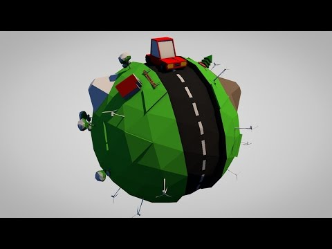 Cinema 4D Tutorial  Part 2/6 - Creating 3D Animation from start to finish(Free Project Files)