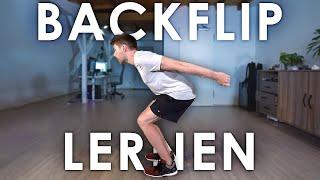 Rückwärts-Salto lernen in 1 min TRICK | Selbstexperiment