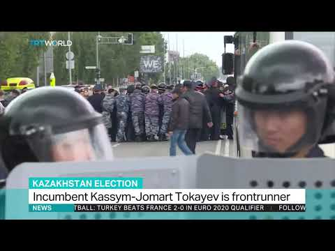 Voting under way in Kazakhstan presidential election amid protests