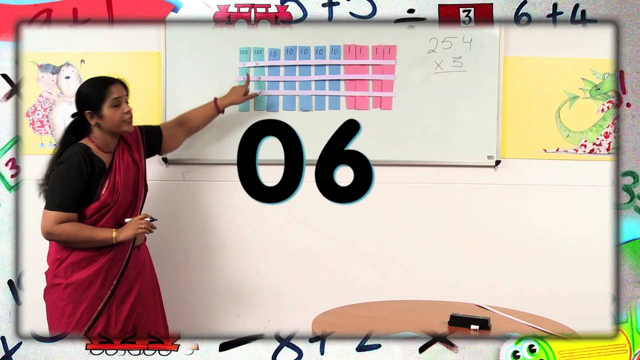 small resolution of Multiplication Activity for Class 3 - YouTube