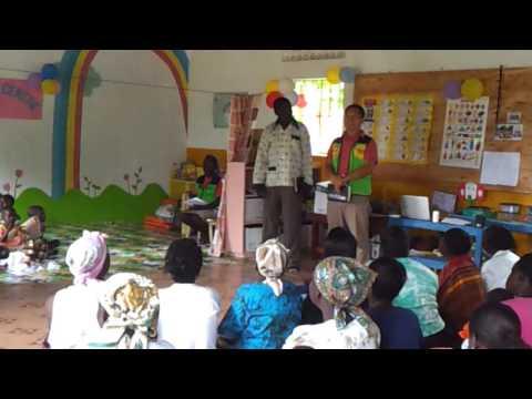 Children Art Exihibition of Laliya Kings Kids Day Care Centre, Gulu Uganda
