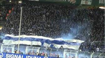 BVB - Schalke 2-0 Stimmung Teil 2 Borussia Dortmund S04 Derbysieger schwatzgelbdevideo Pyro