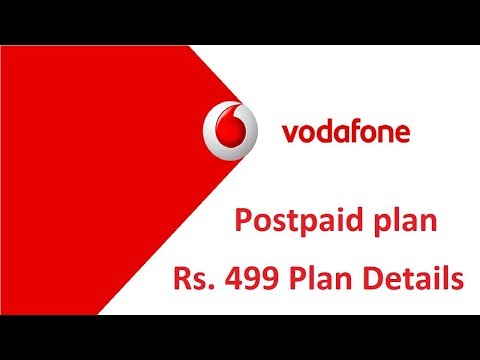how to know my vodafone postpaid plan