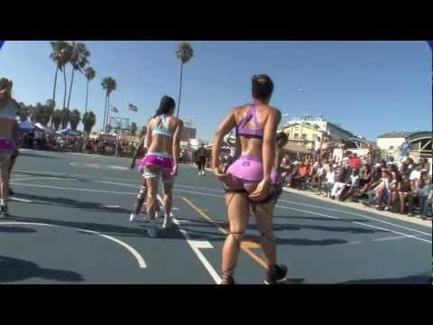 Lingerie Basketball @ Venice Beach