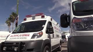 Entrega Gobernadora 26 ambulancias equipadas a municipios