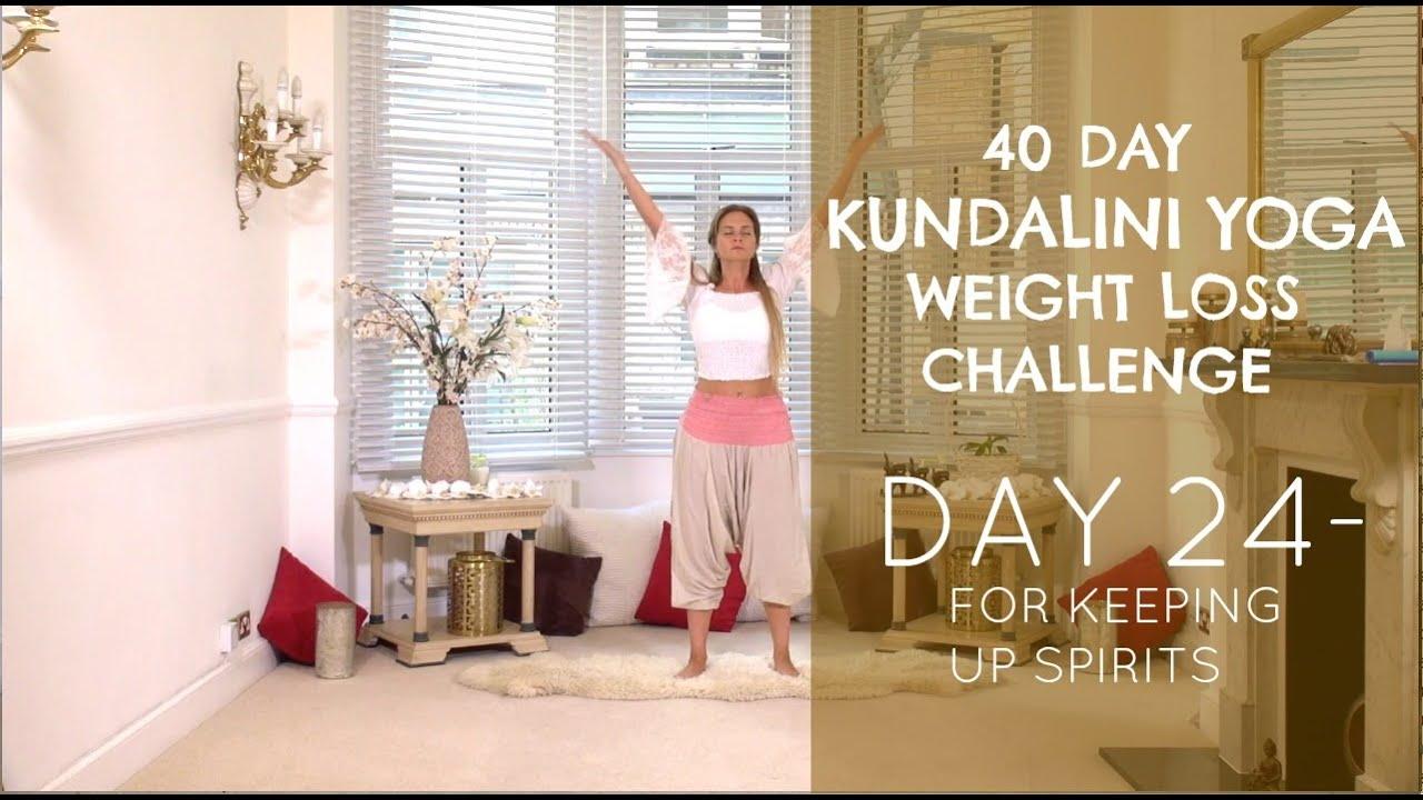 40 napos kundalini fogyás kihívás