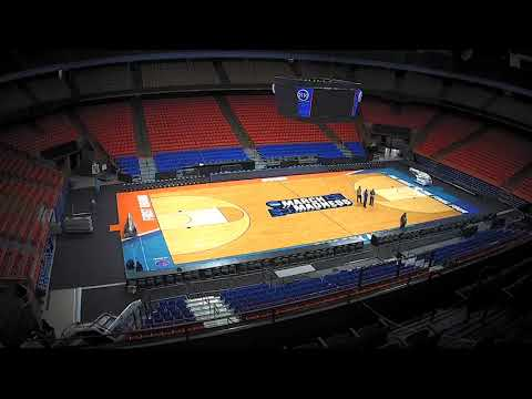 Time Lapse of Taco Bell Arena NCAA 2018