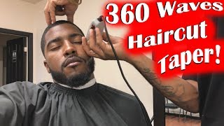 360 Waves Fresh Haircut Taper; Lost Progress on Sides!