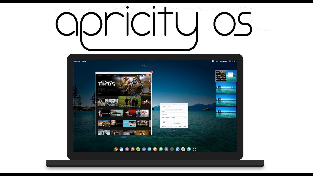 Installing Apricity OS...