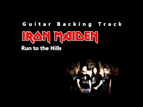 Iron Maiden – Run to the Hills (Guitar – Backing Track) w/ Vocals