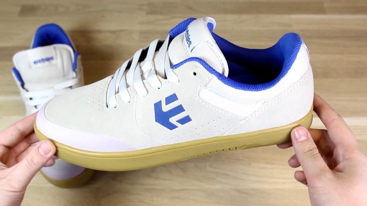 Etnies Marana Trainers in White/Blue