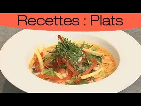apprendre cuisiner des crevettes la tha landaise youtube. Black Bedroom Furniture Sets. Home Design Ideas