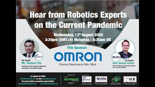 Hear from the Robotics Expert on the Current Pandemic