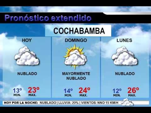 Pron stico del tiempo bolivia 1 2 3 febrero 2014 youtube for Pronostico del tiempo accuweather