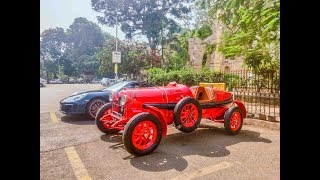 Rarest antique car in india. Almost 100 years old?! || Supercars in Mumbai (Sunday drive, EP 4)