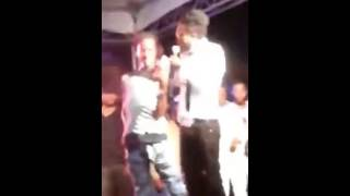 GULLY BOP UPSETS BEENIE MAN ,TELLING HIM TO GET OFF THE STAGE [ 2016]