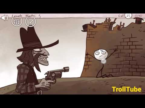 Troll Face Quest Classic Level 21 - 30 Cheats