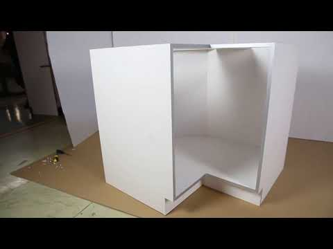 Base Lazy Susan Cabinet Assembly Guide BLS36 - YouTube