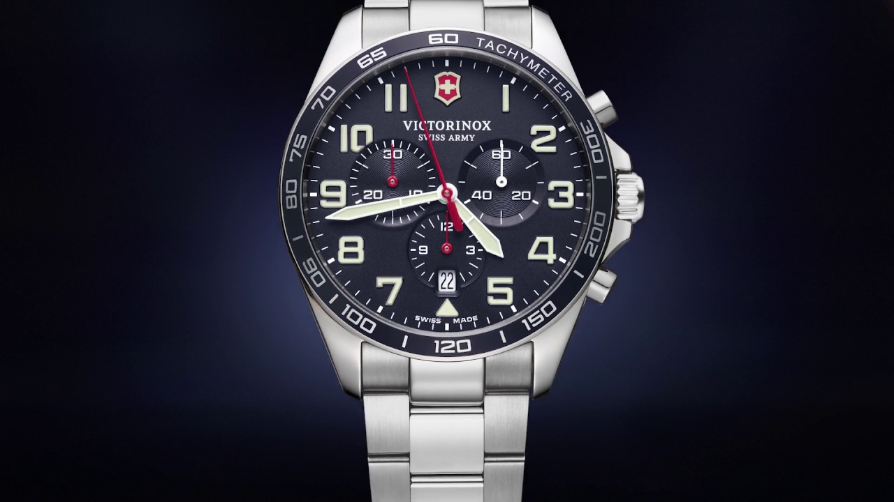 Armbanduhr Fieldforce Chronograph Victorinox 241857 Herren 35ARj4L