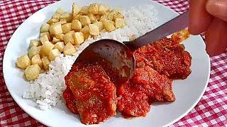 Atún con Tomate o Atún en Salsa de Tomate que Rico (A mi manera)