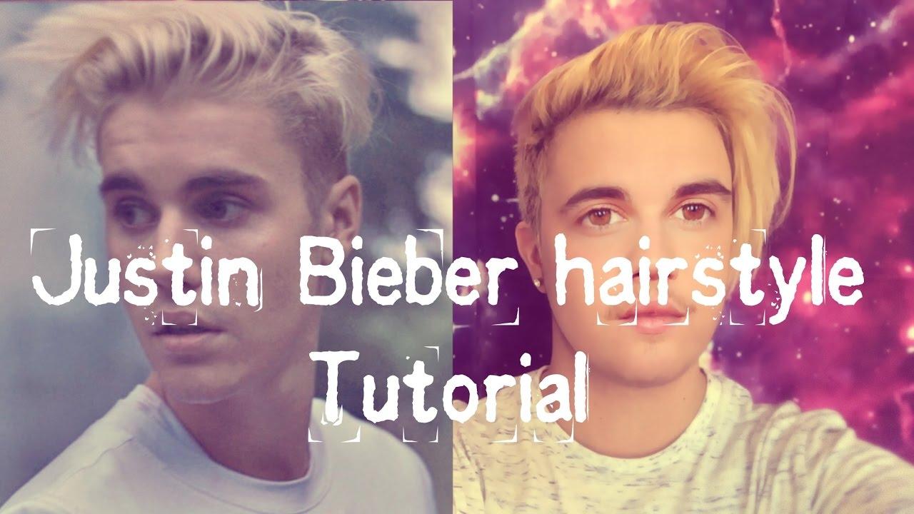 Justin Bieber Hairstyle Tutorial X Mens Long Undercut