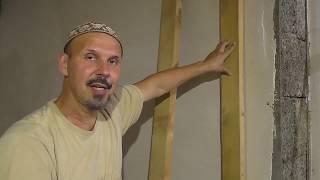 как сделать каркас из дерева для гипсокартона