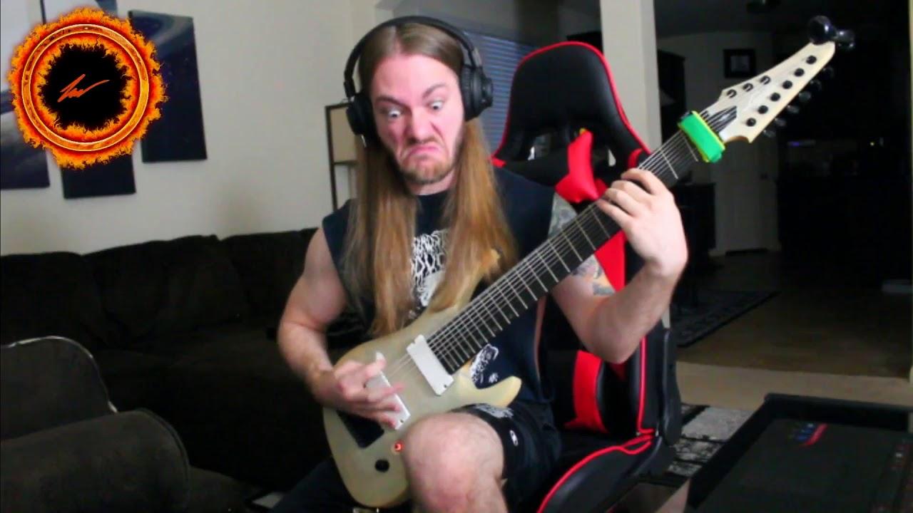 rings of saturn lucas mann legator ninja 300 pro 9 string guitar test youtube. Black Bedroom Furniture Sets. Home Design Ideas