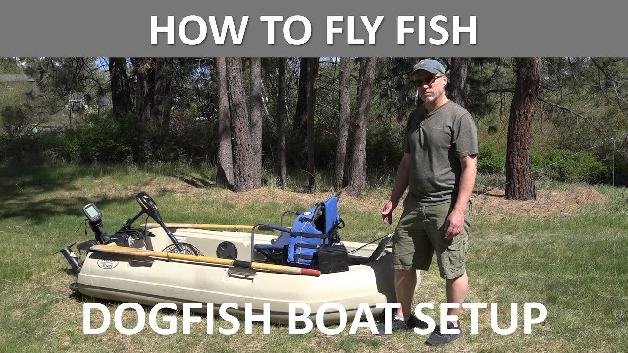 Dogfish Boats Setup Suggestions Video for DF8 Electric Motor Ready Model and Standard Model